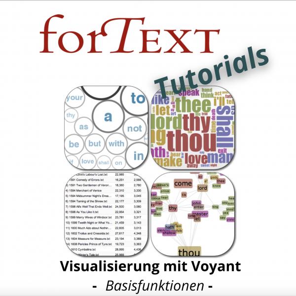 Textvisualisierung und digitale Literaturanalyse mit Yoyant-Tools