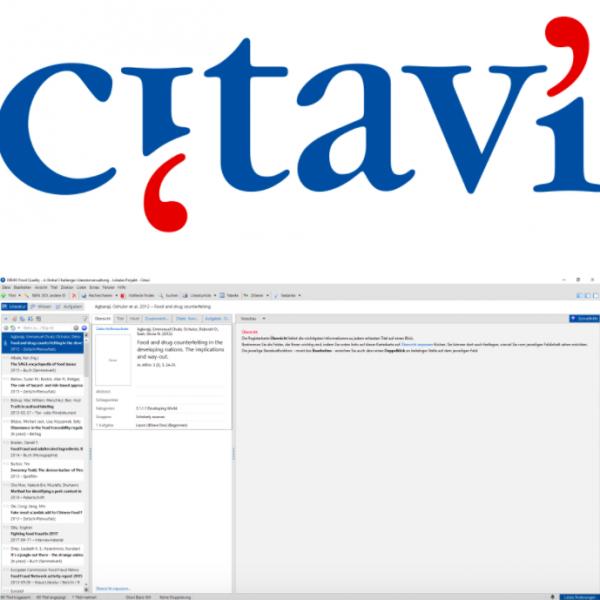 Citavi: Ein Tool zur Literaturverwaltung