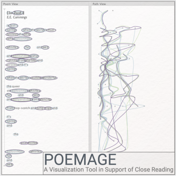 Poemage – visuelle Exploration klanglicher Strukturen in Gedichten