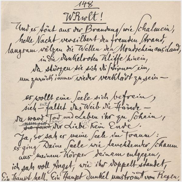 Manuskript-Scan