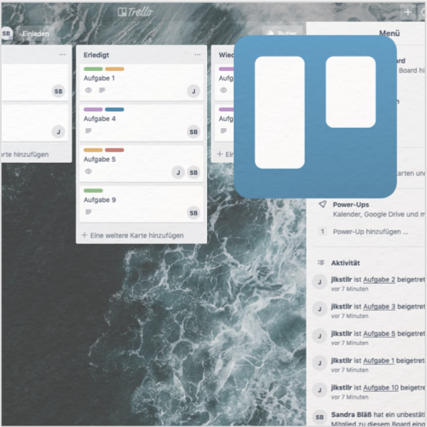 Trello, ein Tool zur digitalen Projektkonzeption