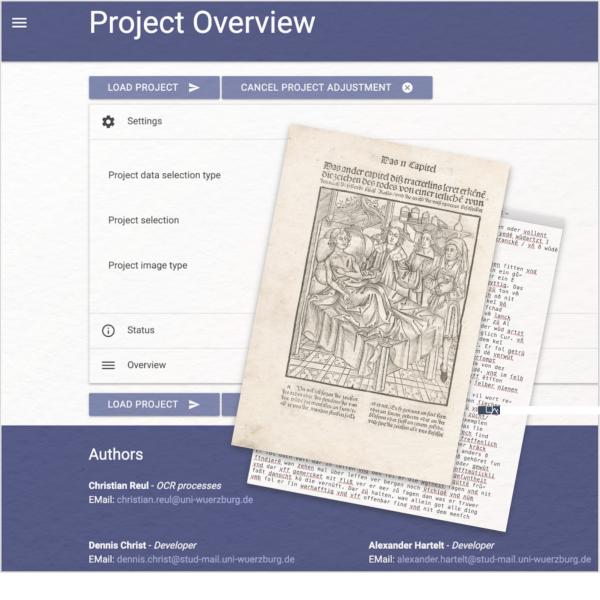 OCR4all ist ein Texterkennungsprogramm für ältere Texte