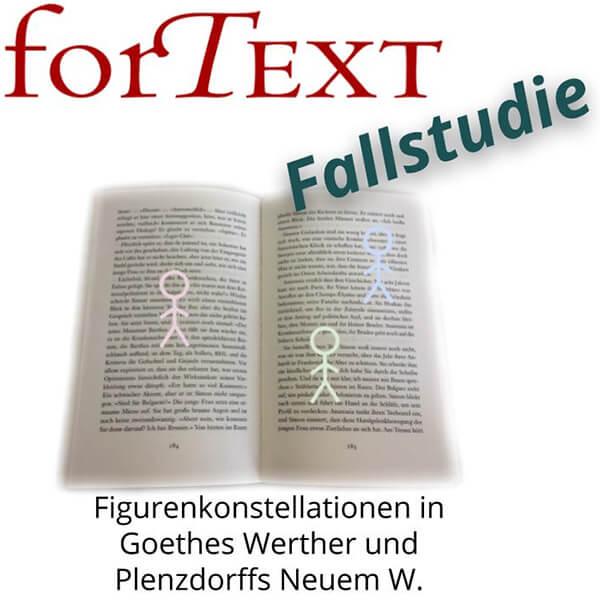 Named Entity Recognition Fallstudie: Wie sehen die Figurenkonstellationen in Goethes Werther und Plenzdorf neuem W. aus?